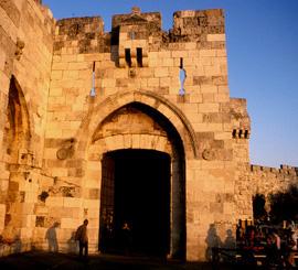 La porte de Jaffa à Jérusalem