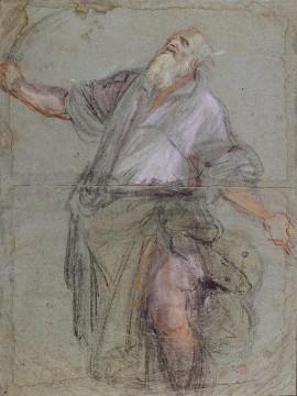 Abraham entendant Dieu lui demander de sacrifier son fils