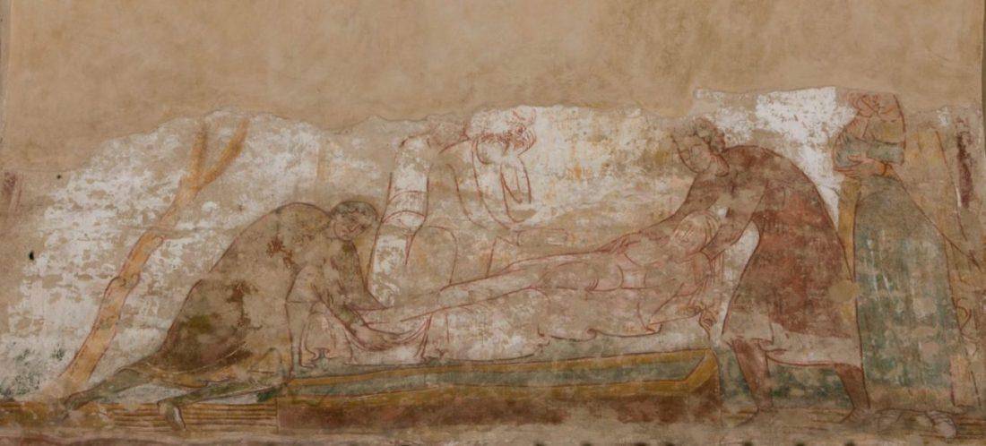 Les funerailles d_abraham eglise saint savin poitou