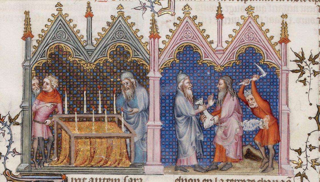 Les funérailles de Sara et achat du champ par Abraham à Ephron