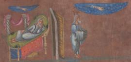 Abraham recevant la promesse de sa descendance