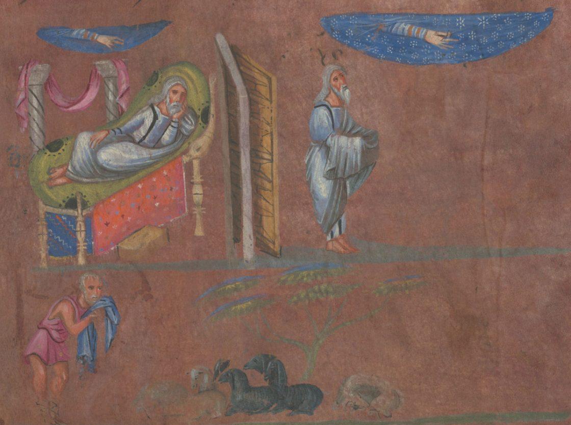 Abraham recevant la promesse de sa descendance La Genèse de Vienne