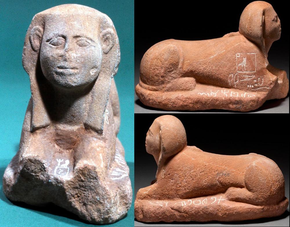 Sphinx de Sérabit El Kahadim écriture protosinaïtique