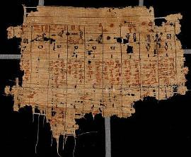 Papyrus d'Abousir Louvre