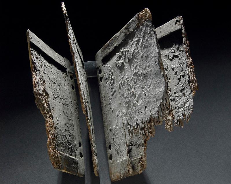 Codex reconstitué et formé par des tablettes de bois