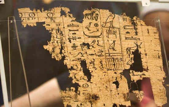 Le plus vieux papyrus égyptien