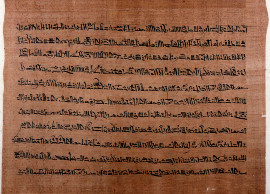 Texte papyrus Harris