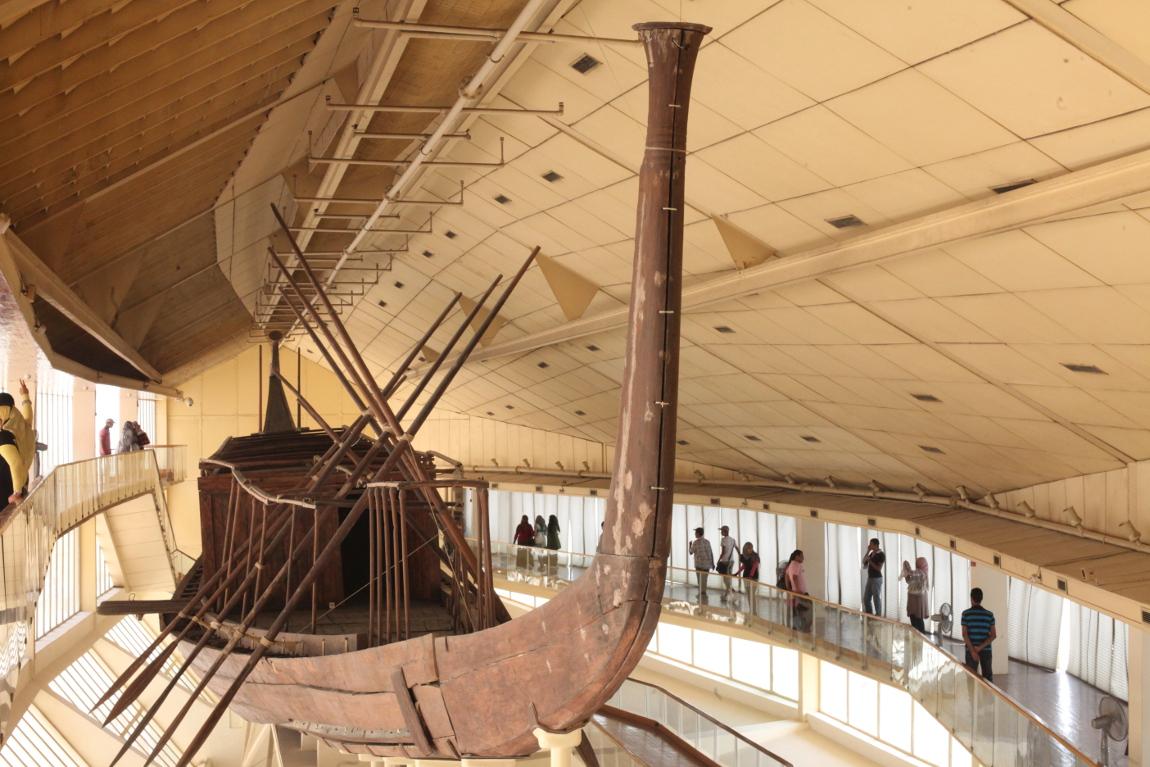 La barque de khéops