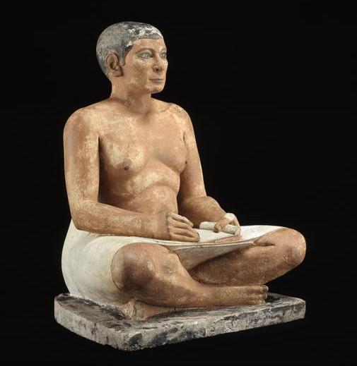 Scribe assis en tailleur Louvre