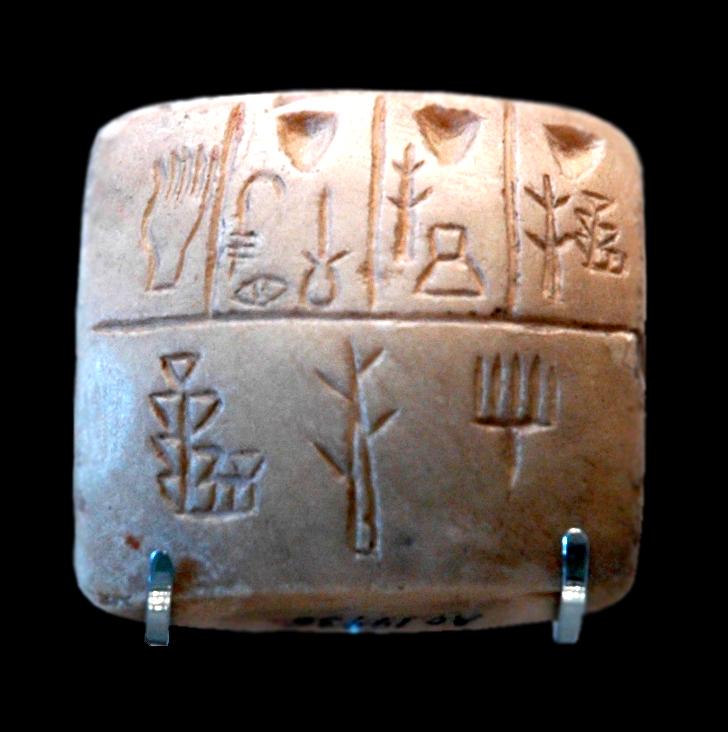 Tablette avec pictogramme
