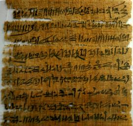 Ecriture hiératique