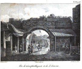 1831 Arc de triomphe porte Vardar Thessalonique