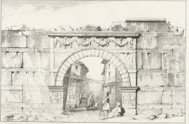 1876 Daumet porte Vardar Thessalonique