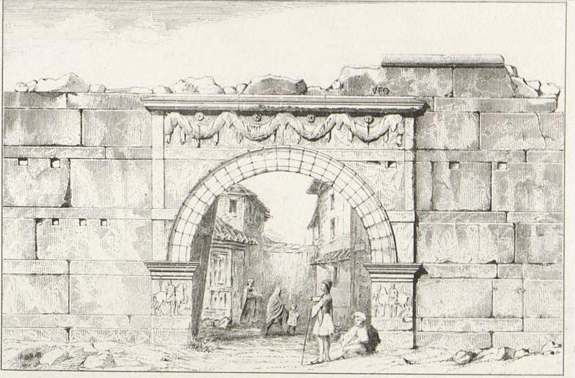 1876 porte-Vardar Thessalonique par Daumet